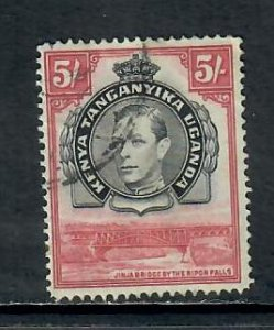 KENYA, UGANDA TANGANYIKA 1938   GEORGE vi 5s USED