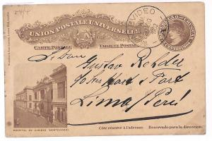 Uruguay *MONTEVIDEO* Postal Stationery {samwells-covers}PTS 1902 GS278