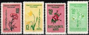 Turkey #1154-7 MNH CV $3.95 (X7727)