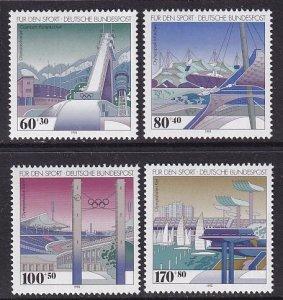Germany   #B741-B744  MNH  1993  sport promotion