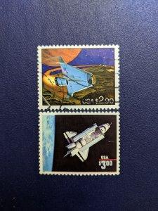U.S. 2543-4 VF, CV $3.50