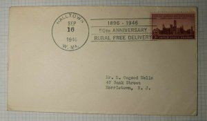 RFD 50th Anniversary Halltown WV 1946 Event Cover