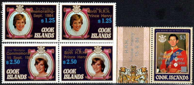 Cook Islands #833-5  MNH CV $9.50  (X4120)