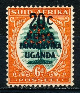Kenya Uganda & Tanzania #88b Single MH