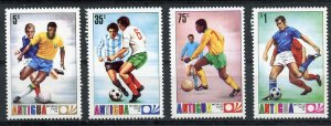 Antigua MNH 345-8 World Cup Soccer 1974