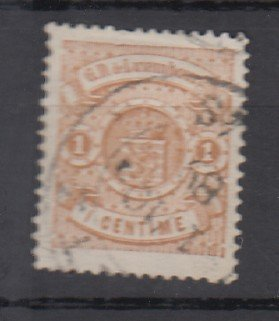 J25713 JLstamps 1880-1 luxembourg used #40 arms