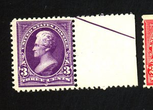 U.S. #253 MINT F-VF OG NH Cat $325