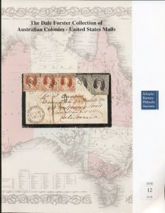 AUSTRALIAN COLONIES-U.S. MAILS DALE FORSTER COLLECTION BOOK, SOFT COVER