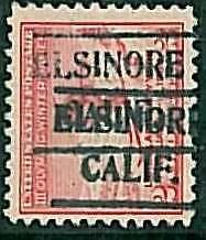 USA - OLYMPIC GAMES 1932 LAKE PLACID - pre-stamped 2 CENT - EL SINORE, CALIF #2