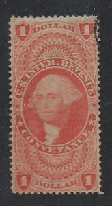 UNITED STATES SC# R66c FINE U 1862-71