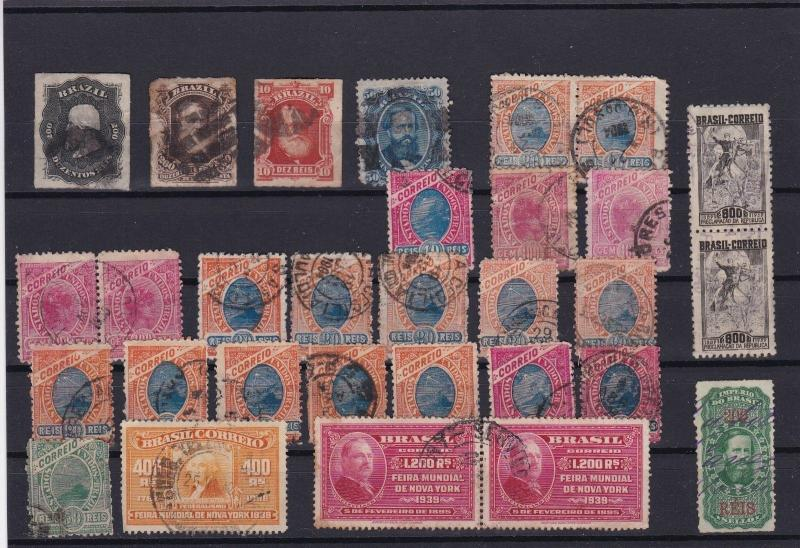 BRASIL EARLY USED STAMPS  REF 5293