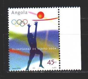 Angola. 2004. 1730 from the series. Athens Summer Olympics. MNH.