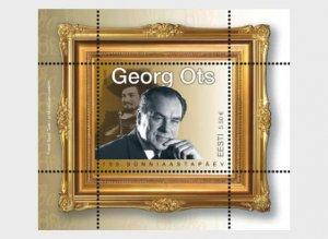 Estonia 2020 Georg Ots Miniature Sheet MNH**
