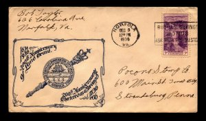 1936 300th Anniversary of Virginia Land Grant Event Cover - N442