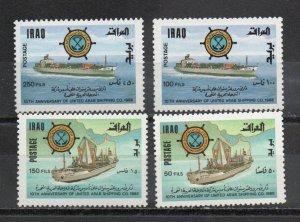 Iraq 1278-1281 MNH
