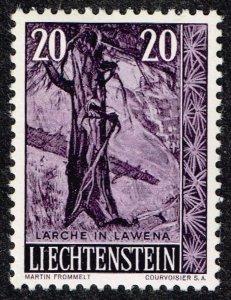 Liechtenstein Stamp 1959 Trees and Bushes MH/OG STAMP 20 RP