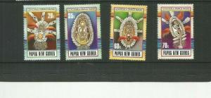 PAPUA NEW GUINEA 1990  SCOTT 735-8 MNH SCV $9