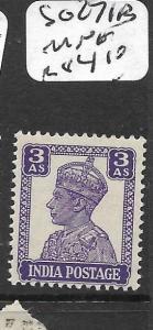 INDIA CHAMBA   (P0307B) KGVI 3A  SG 271B     MNH