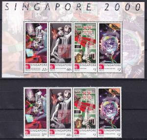 Singapore #918, 918e  MNH CV $10.00  Z812L
