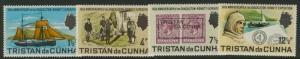 Tristan Da Cunha 153-6 MNH Shackleton-Rowett Expedition, Ship, Scouts