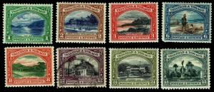 1935-37 Trinidad & Tobago #34-41 - Most OGLH - VF - $39.90 (ESP#3330)