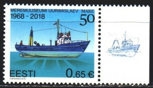 Estonia. 2018. 917. Ship. MNH.