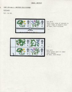 SPECIALISED COLLECTION OF UNMOUNTED MINT PRE-DECIMAL COMMEMORATIVE VARIETIES