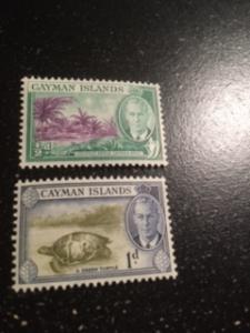 Cayman Islands sc 123-124 MLH