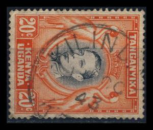 K.U.T. / KENYA - 1943 -  SG139a CANCELLED KILINDINI KDC DATE STAMP