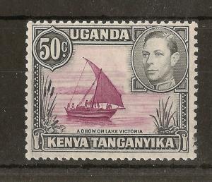 KUT 1949 50c SG144e Mint Cat£13