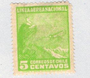 Chile Eagle green 5c (AP124011)