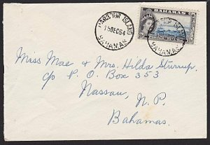 BAHAMAS 1964 local cover HARBOUR ISLAND cds.................................6577