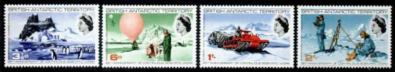 British Antarctic Territory 20-3 MNH Penguins, Research