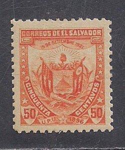 SALVADOR  SC# 157N  FVF/MOG