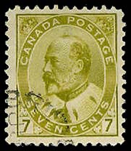 CANADA-f-b-1903-1926 ISSUES (89-140) 92  Used (ID # 32858)