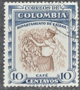 DYNAMITE Stamps: Colombia Scott #684 – USED