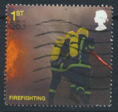 GB  SG 2958 SC# 2680   Fire & Rescue Services  Used