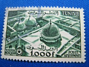 TUNISIA  1953  -  SCOTT # C20  -   USED   (Ht6)