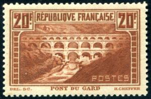 FRANCE 254A MINT NH. 20F High value. Hard to find Nice