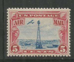 UNITED STATES  C11  MNH,  BEACON ON ROCKY MOUNTAINS