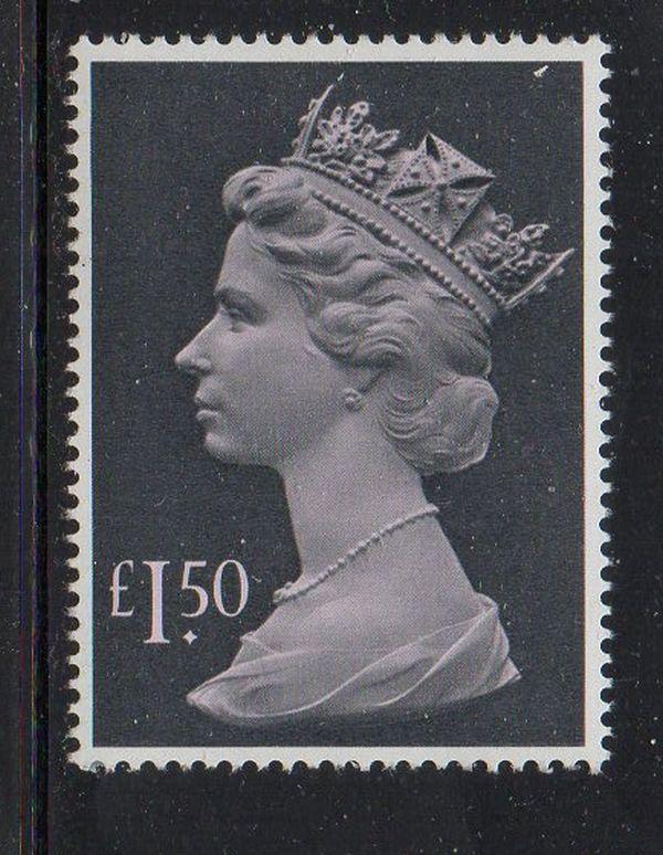 Great Britain Sc MH173 1986 £1.50  Machin Head stamp mint NH