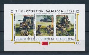 [81035] St. Kitts 2011 Second World war Operation Barbarossa Sheet MNH