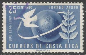COSTA RICA C187 VFU UPU Z4608-2