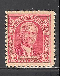 Canal Zone Sc # 106 mint hinged (DT)