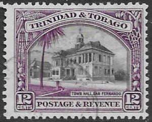Trinidad & Tobago 39a    1937  12 c  fvf used