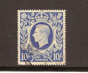 GREAT BRITAIN STAMPS USED # 251A-LOT#382