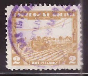 Bolivia Scott 250 Used 1938 key stamp