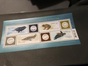 Canada #2229 Mint VF-NH 2009 Endangered Species Souvenir Sheet VF-NH Face $2.08