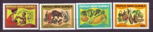 J21914 Jlstamps 1982 png set mnh #562-5 food