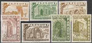 Paraguay #491-7  MNH CV $3.70